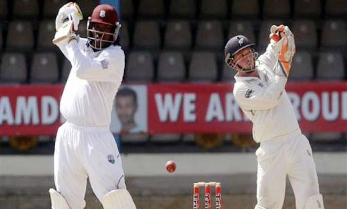 gayle powers west indies to victory over nz