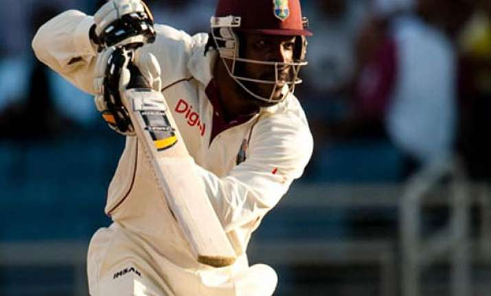 gayle out edwards recalled for test against india