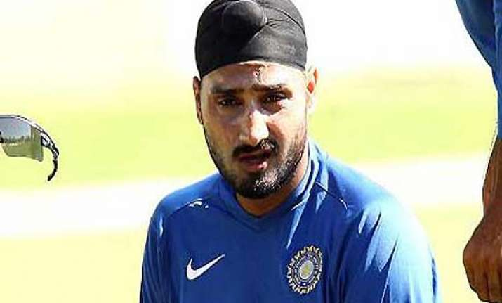 harbhajan down with flu may not play kolkata test