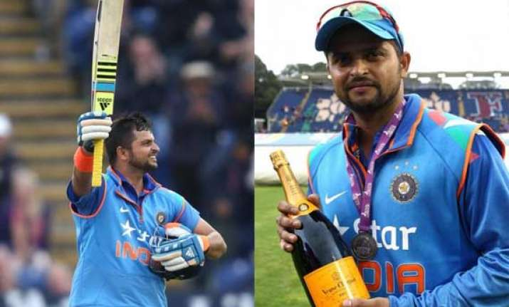 has raina revitalized wobbling team india at cardiff