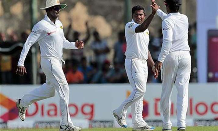 herath strikes early to give sri lanka the edge over south