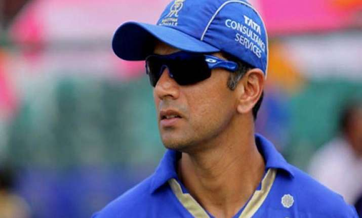 hope luck favours as well in ahmedabad dravid