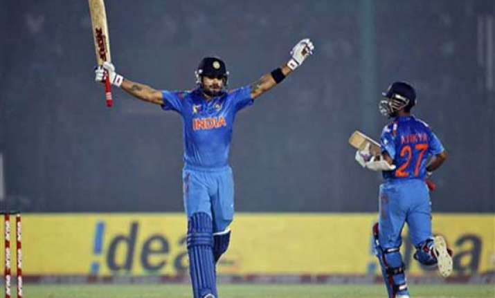 how virat kohli the stand in skipper stood out