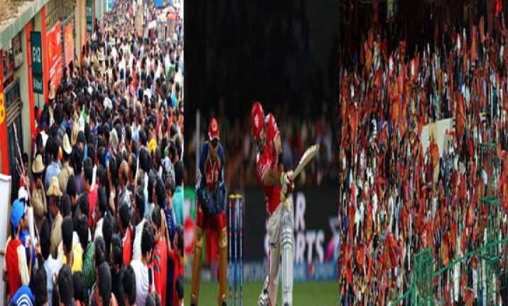 ipl 7 how clash of royals kings drew fans in droves