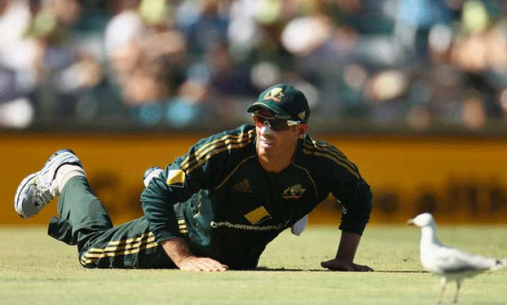 hussey given short rest ahead of south africa tour