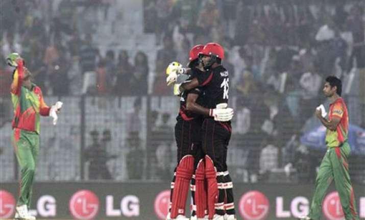 icc world t20 bangladesh advances after humbled by hong kong