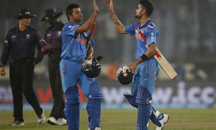 icc world t20 clinical india cruise home by 7 wickets