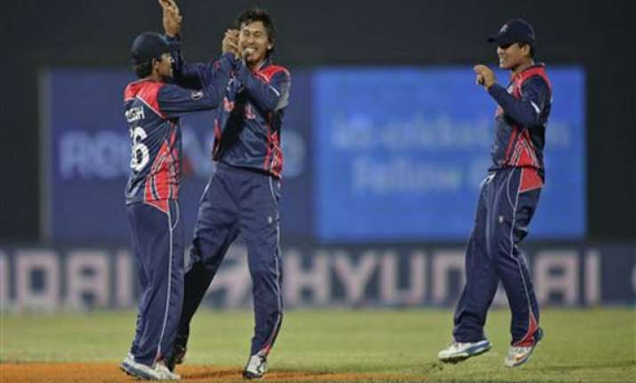 icc world t20 nepal tops afghanistan by 9 runs at world