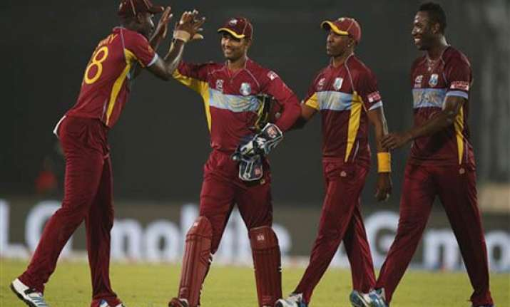 icc world t20 west indies crush pakistan by 84 runs to