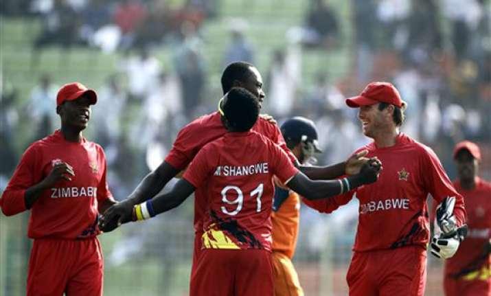 icc world t20 zimbabwe beats netherlands on the last ball