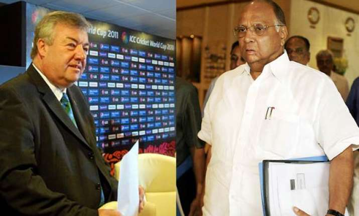 icc awaits response from pawar on ticket fiasco