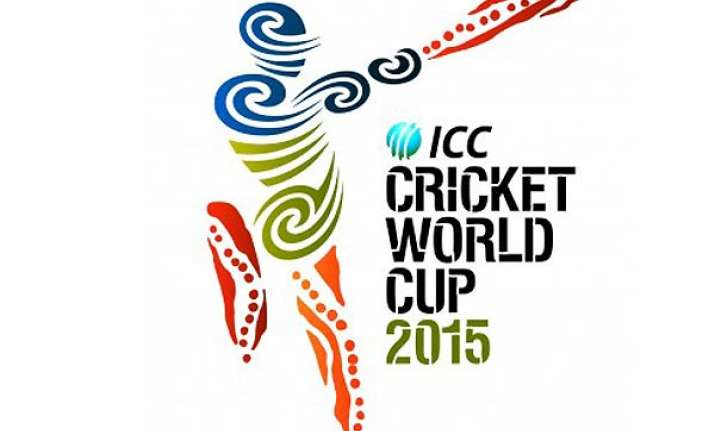 icc unveils world cup 2015 logo
