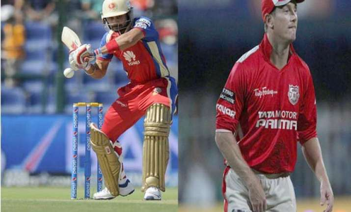 ipl 7 match 18 kxip bowlers shine as rcb restricted to 124/8