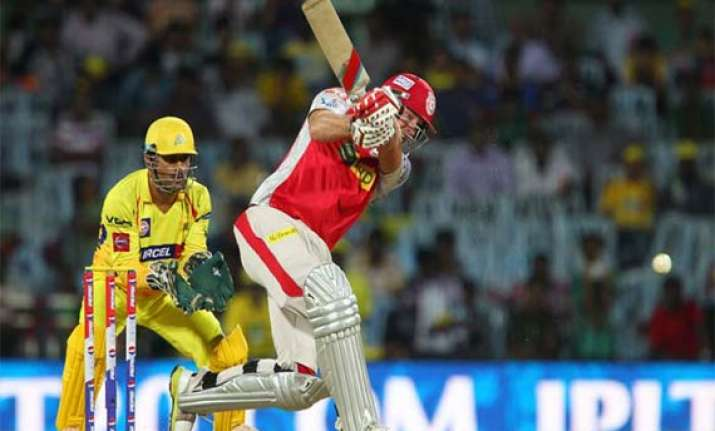 ipl 7 match 3 maxwell and miller fashion kings xi win over