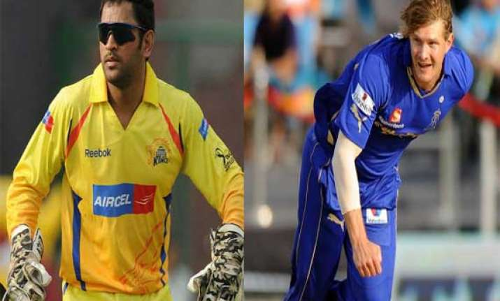 ipl7 csk eye top spot take on rajasthan royals