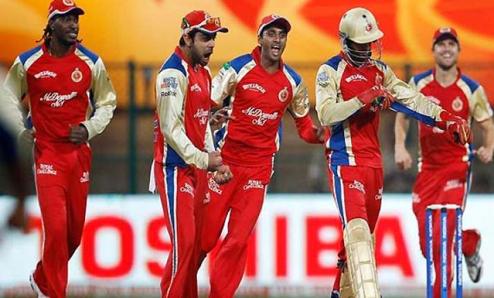 ipl6 rcb stay in hunt beating csk by 24 runs in final