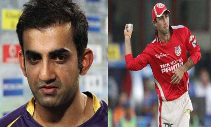 ipl 7 match 15 kkr face maxwell miller test in clash