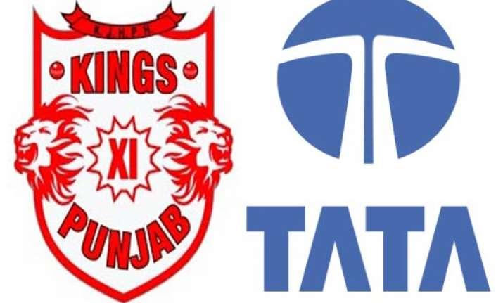 ipl 7 kings xi punjab name tata motors prima as title