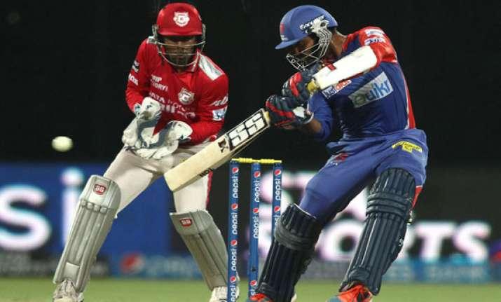 ipl7 kings xi punjab vs delhi daredevils scoreboard
