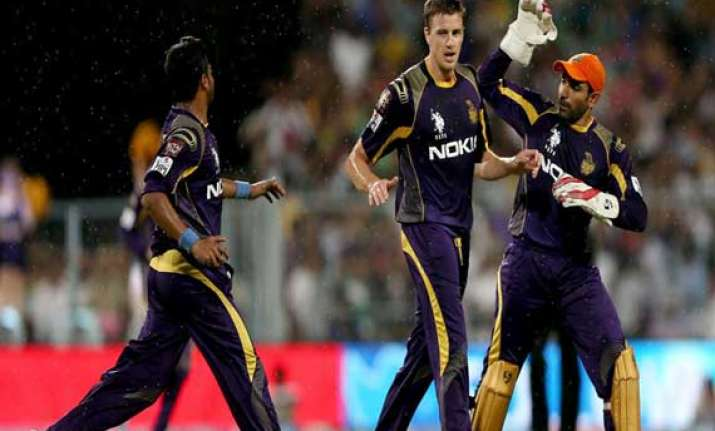 ipl7 kkr storm into final with convincing win