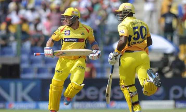 ipl 7 match 21 dominant csk romp to 34 run win over kkr