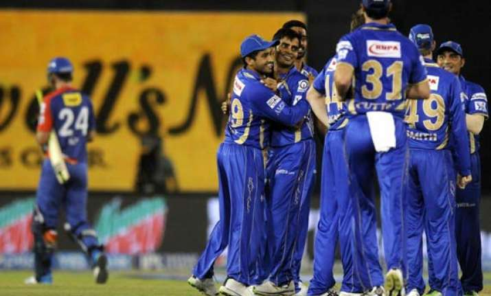 ipl 7 match 41 rajasthan royals thrash daredevils by 62 runs
