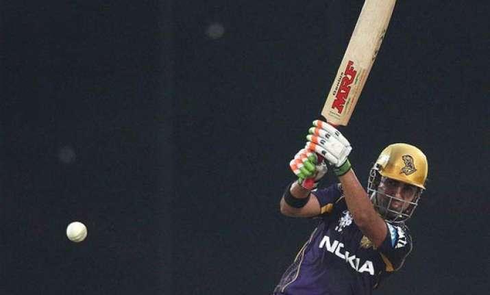 ipl 7 match 28 gambhir fifty powers kkr to 8 wicket win