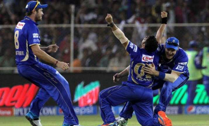 ipl 7 match 25 rajasthan royals pull off a stunning victory