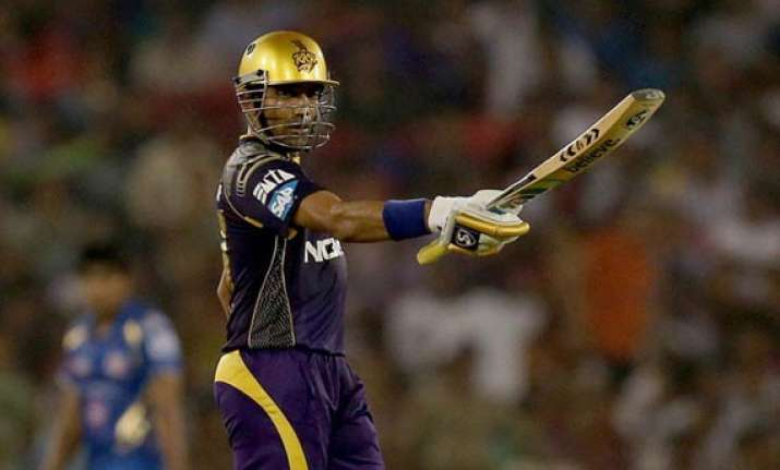 ipl 7 match 40 elegant uthappa powers kkr to six wicket win