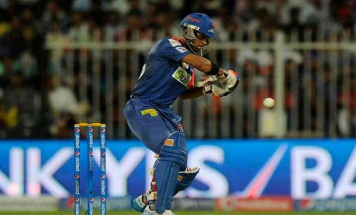 ipl 7 match 6 karthik duminy script delhi win over kkr