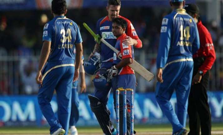 ipl 7 match 16 delhi hand mumbai fourth consecutive defeat