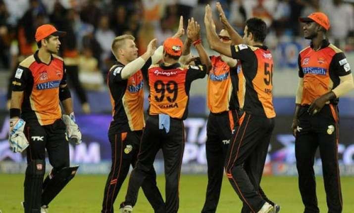 ipl 7 match 20 mumbai indians end horrible uae leg with 5th