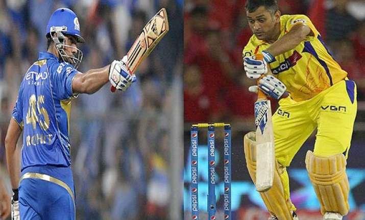 ipl 7 match 33 mumbai indians take on super kings in high