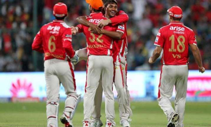 ipl 7 match 31 kxip beat rcb by 32 runs to consolidate
