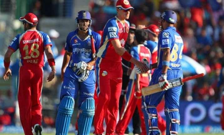 ipl 7 match 14 resurgent rajasthan outplay bangalore by six