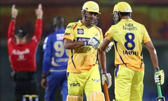 ipl 7 match 37 csk cruise home by five wickets against