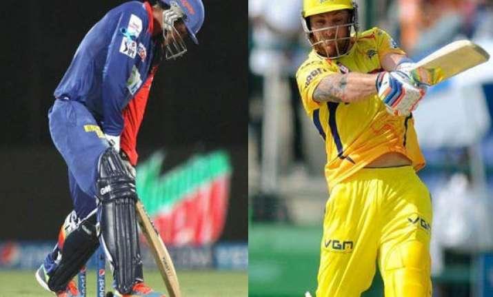 ipl 7 match 26 struggling delhi face chennai challenge