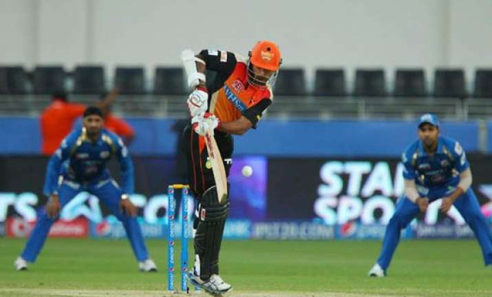 ipl 7 match 20 sunrisers hyderabad vs mumbai indians