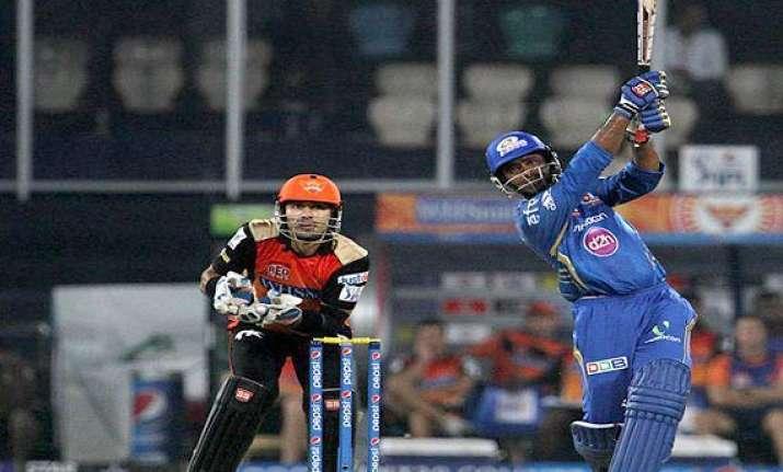 ipl 7 match 36 simmons rayudu fifties set up mumbai win
