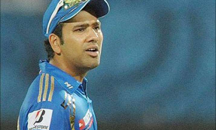 ipl 7 mumbai indians captain rohit sharma fined 20 000