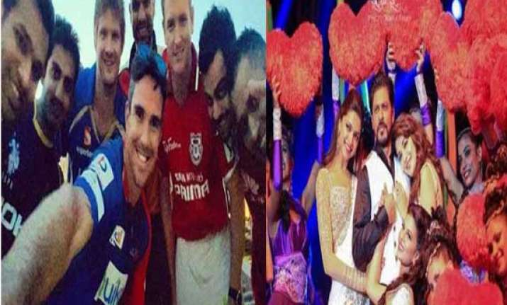 ipl7 opening ceremony from selfie to lungi dance