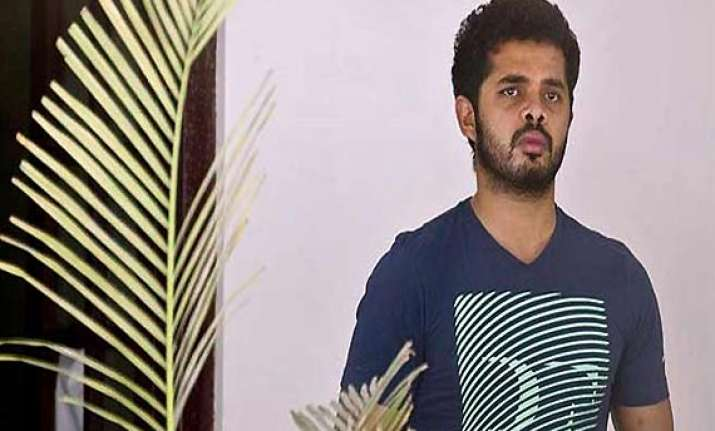 ipl spot fixing sreesanth opposes plea for cancellation of