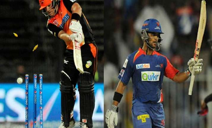 ipl 7 match 12 struggling hyderabad face inconsistent delhi