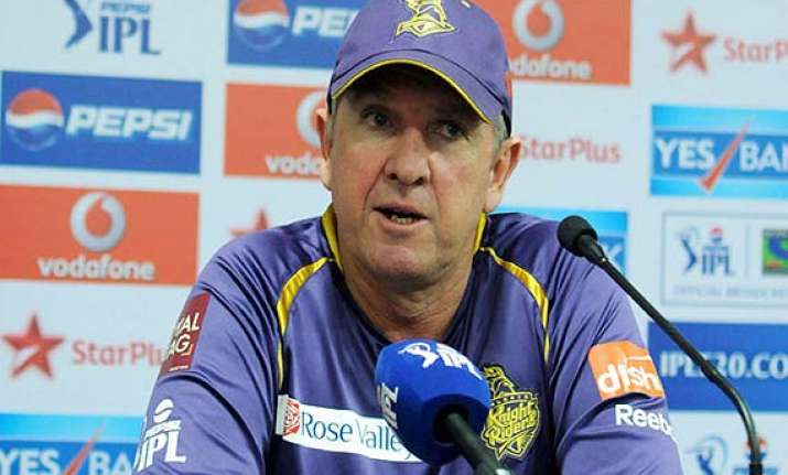 ipl 7 trevor bayliss concerned about kkr s batting