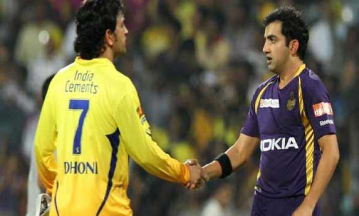 ipl7 upbeat kkr lock horns with csk in ipl
