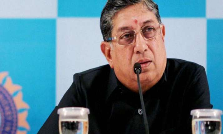 ipl betting srinivasan rules out quitting claims full