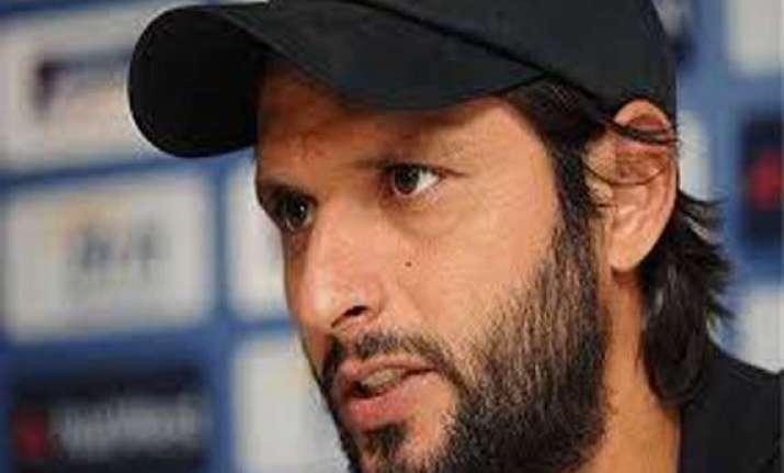 ipl snub to pakistani players dented india s image shahid
