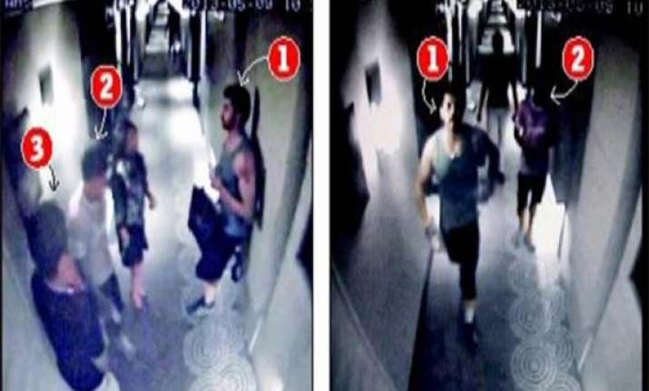 ipl6 spot fixing cctv footage of sreesanth with women in