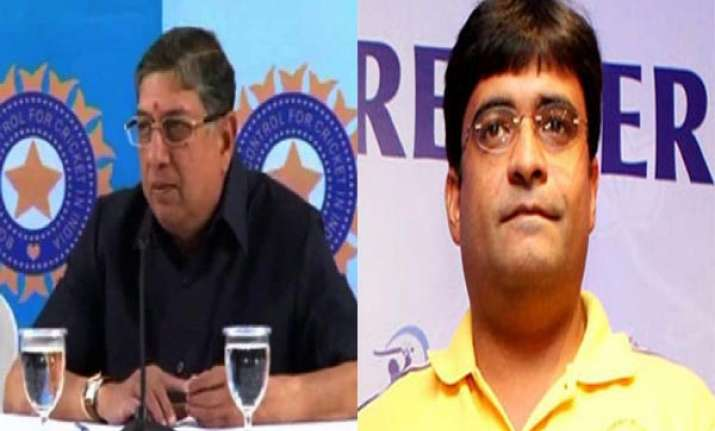 ipl spot fixing bcci suspends meiyappan srinivasan