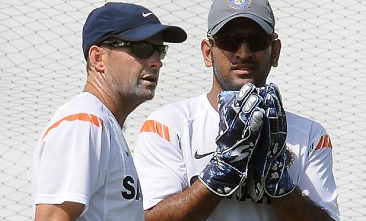 i didn t plan to promote myself it was gary s idea dhoni